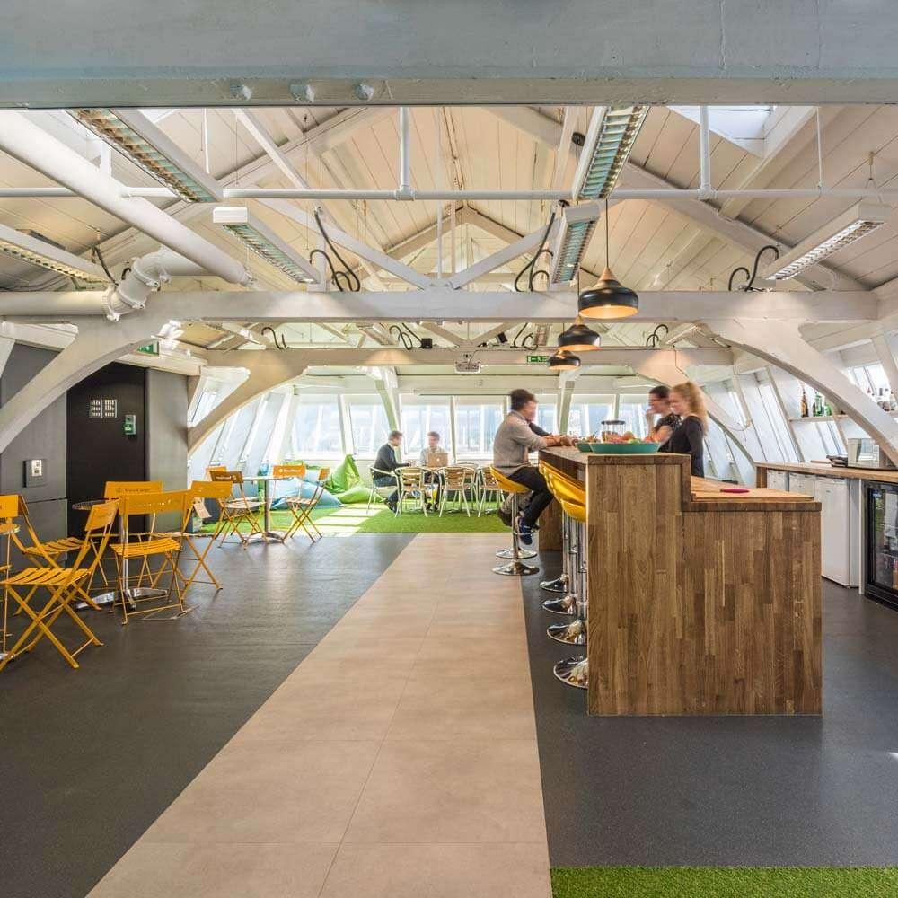 london office found bar staff breakout