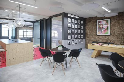 Office Design And Build In London For Vidsy