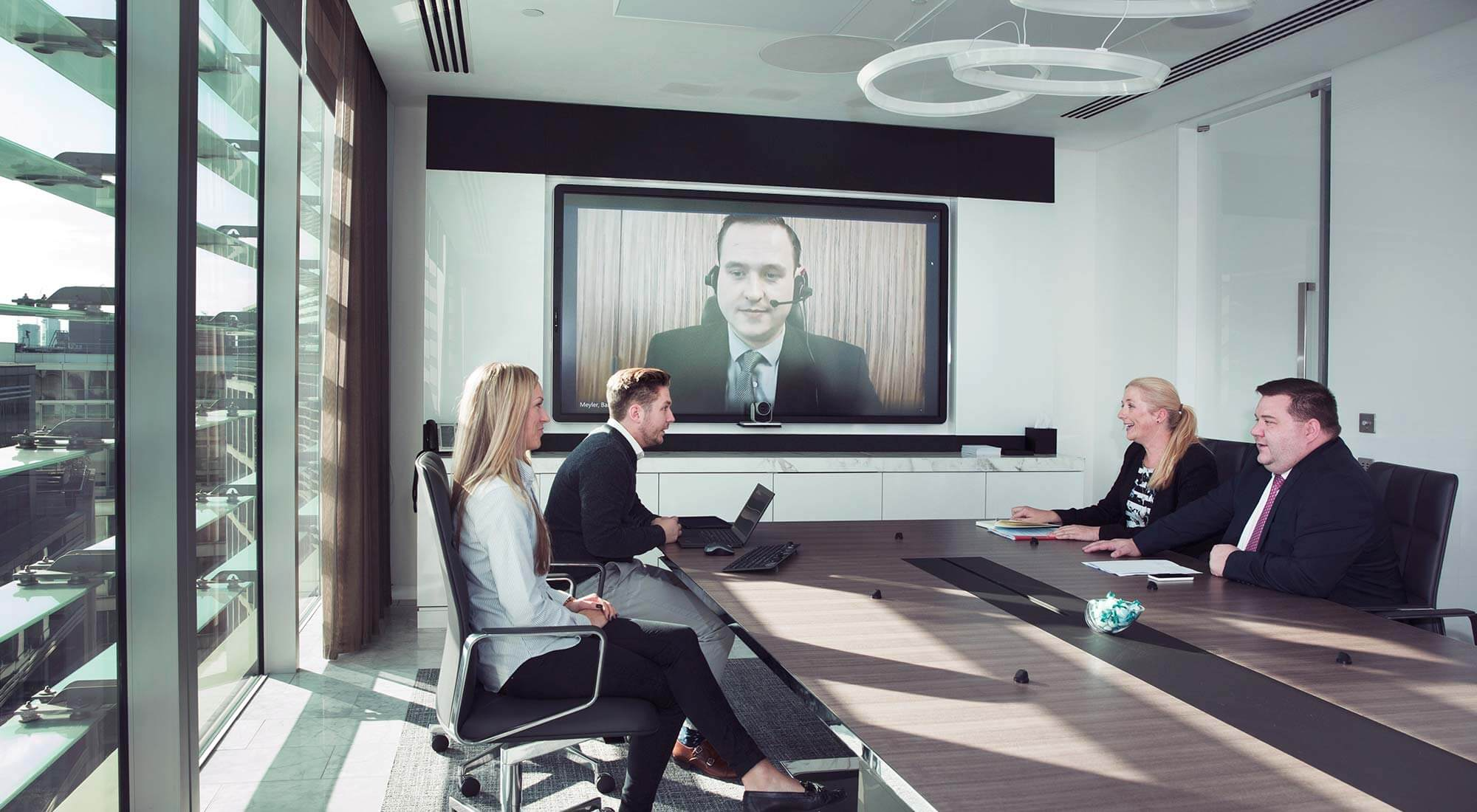 london hq boardroom integrated technology