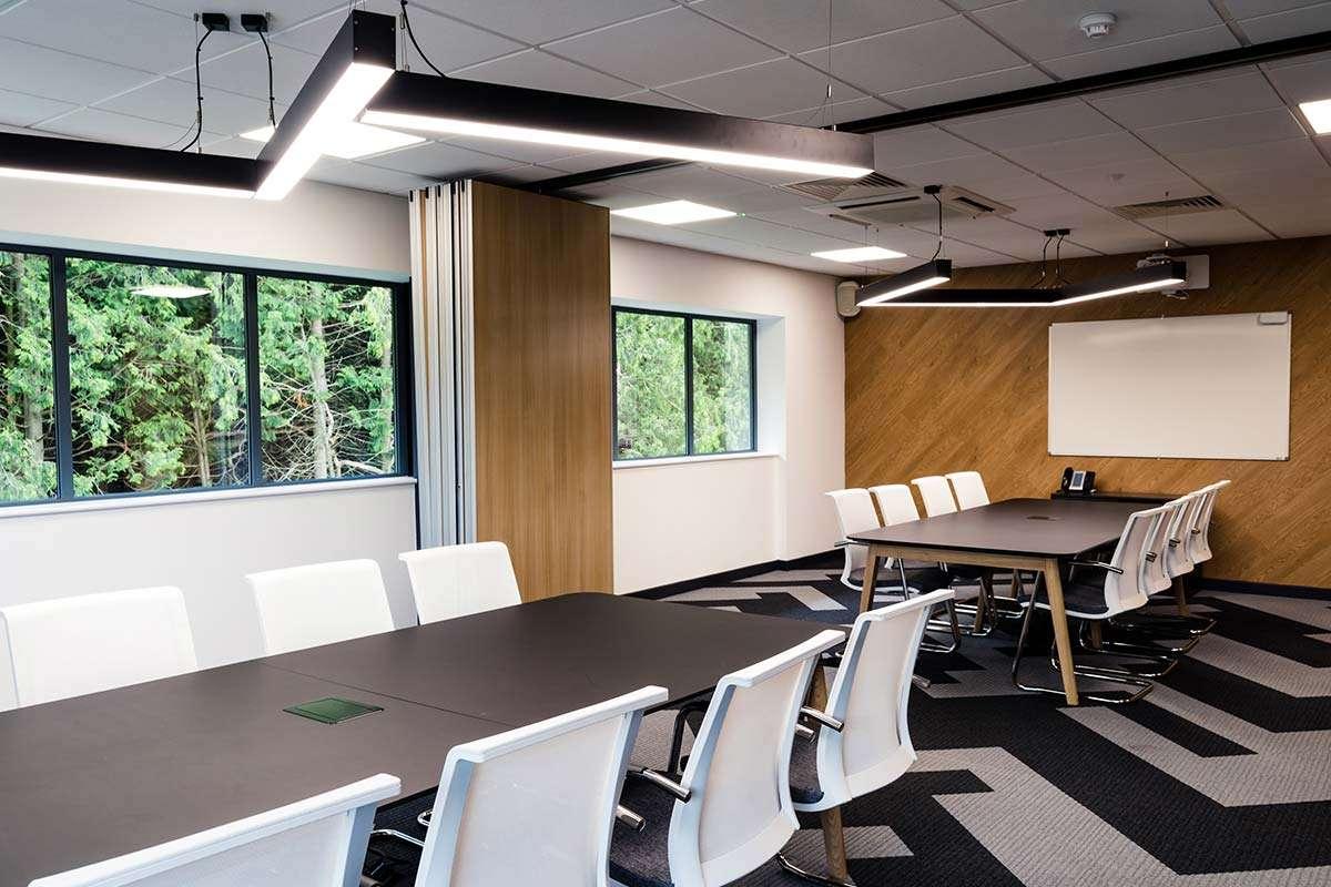 Boardroom Tarkett Traverse Industrial Moving Wall Office Design