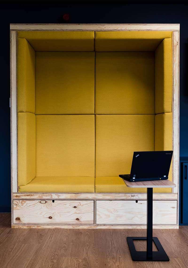 Booth Office Interior Design