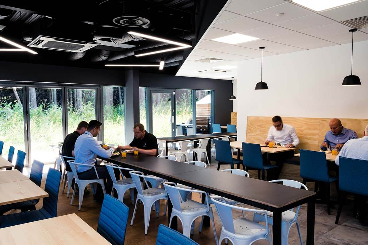 Cafe Breakout Office Design Fitout