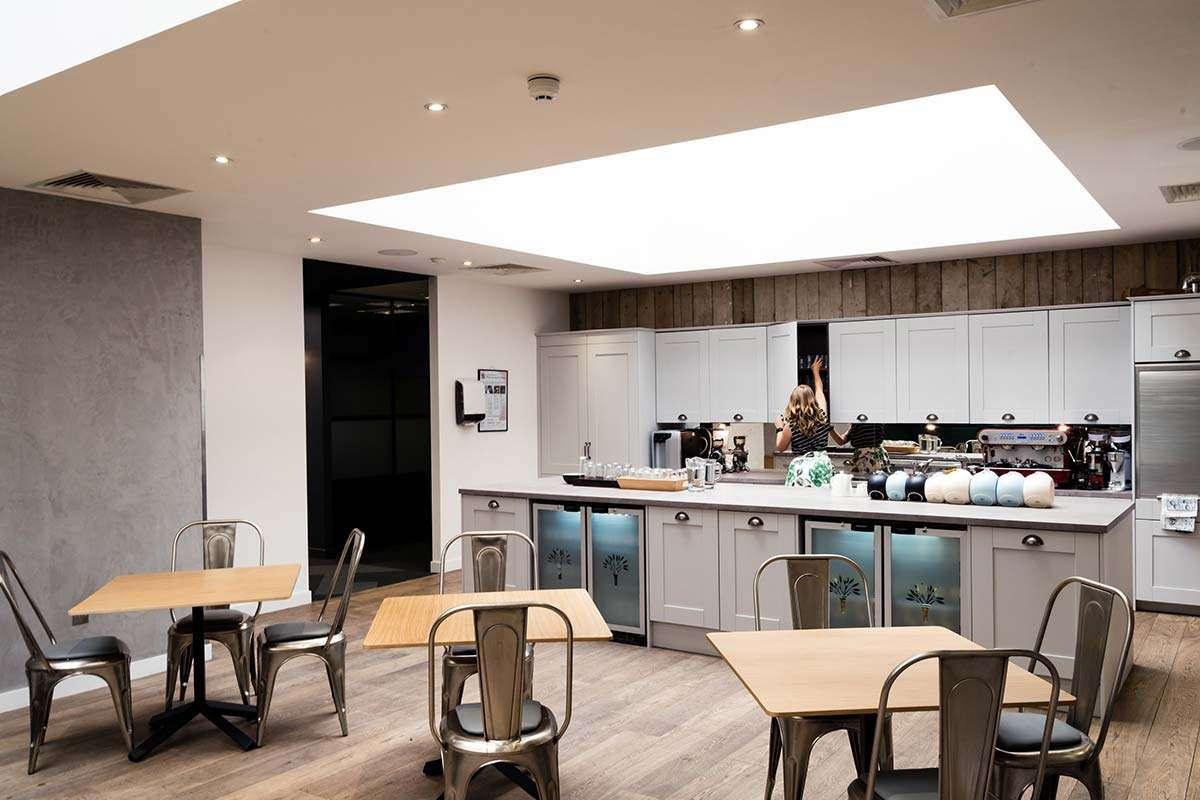 london office kitchen breakout light well