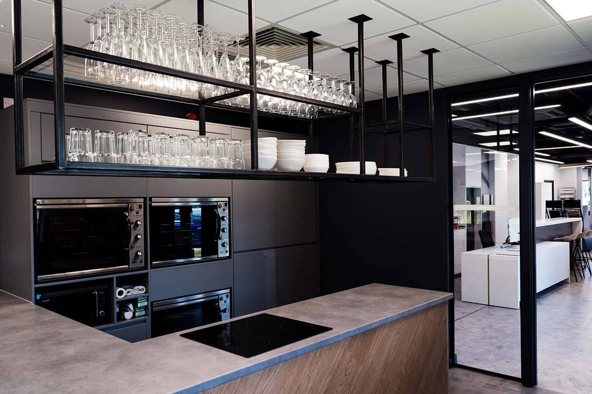 Kitchen Bespoke Office Design Fitout