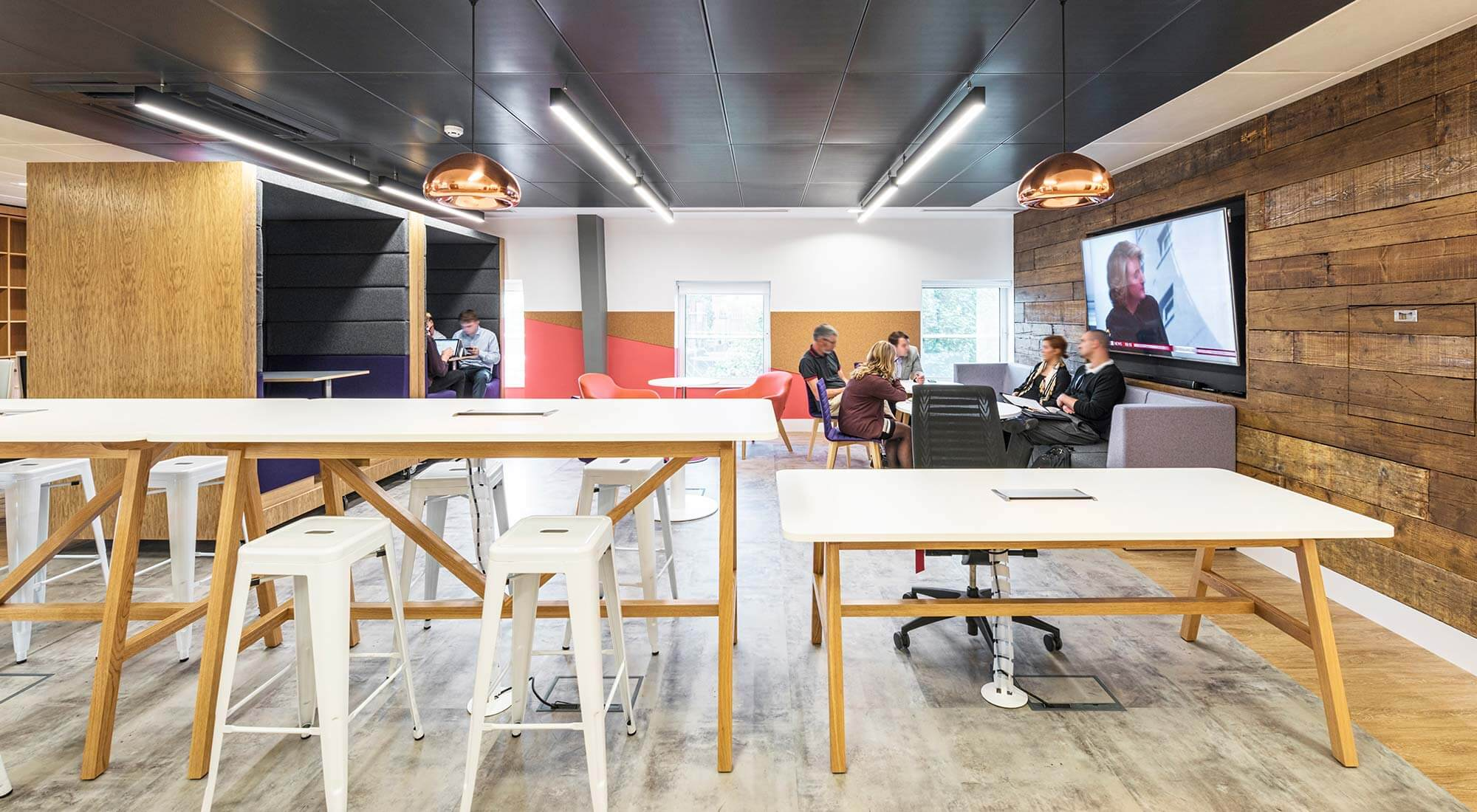 london office staff informal flexi space