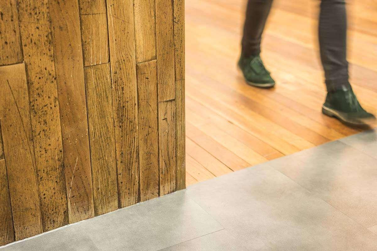 Reclaimed Flooring Office Design Fitout