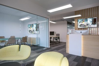 Reception Office Design And Build In London