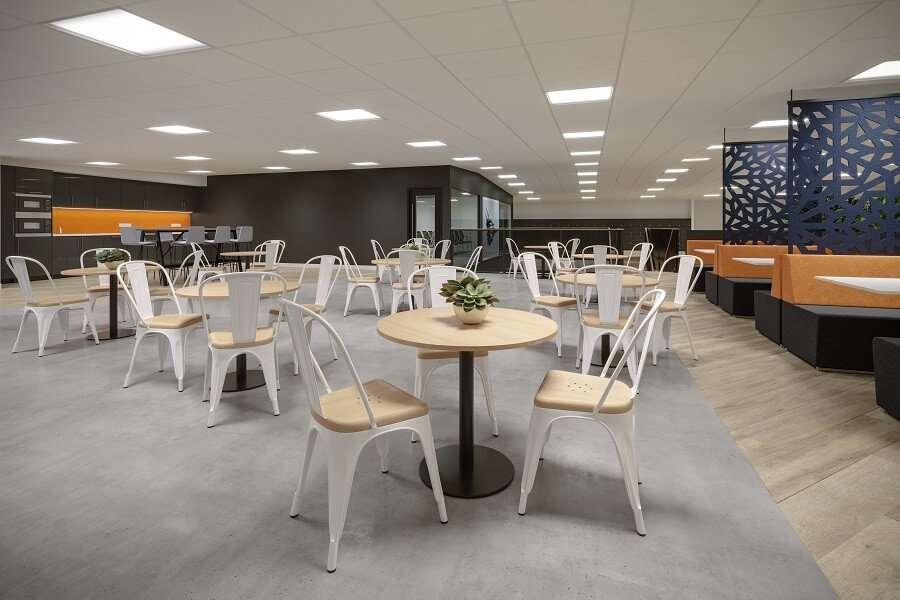 kitchen design concept for office refurbishment