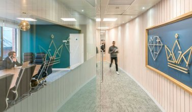 Office Design And Build For Amba