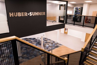 Office Design Company Fitout Form Huber+Suhner