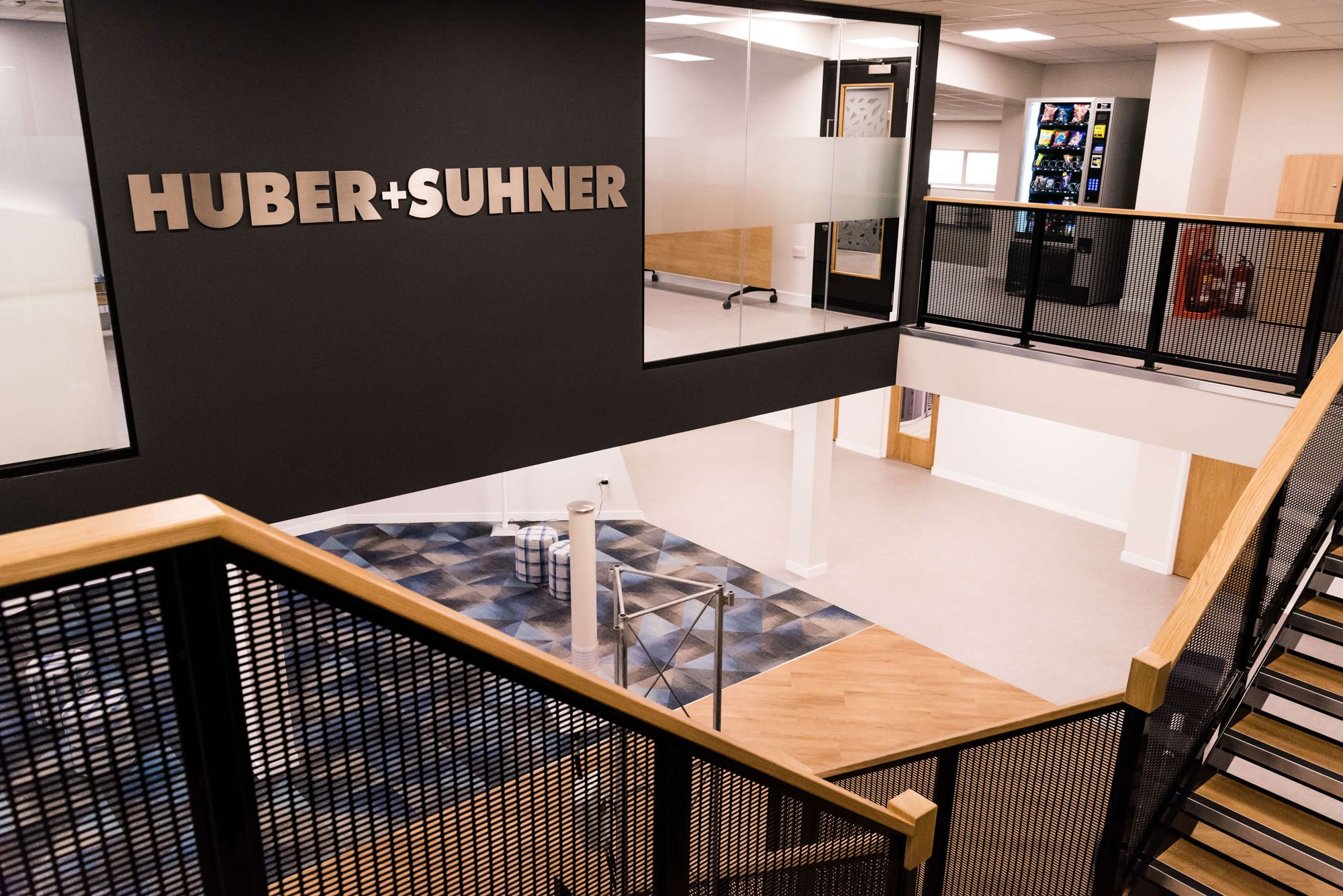 Huber + Suhner's Office Transformation