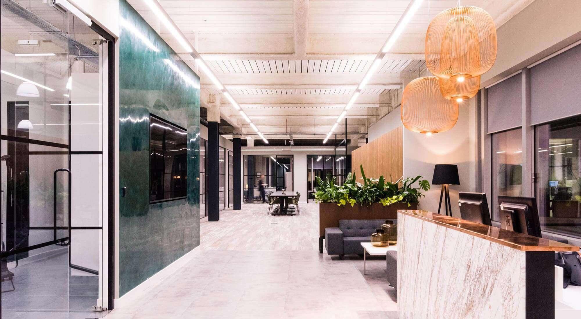 office interior design london