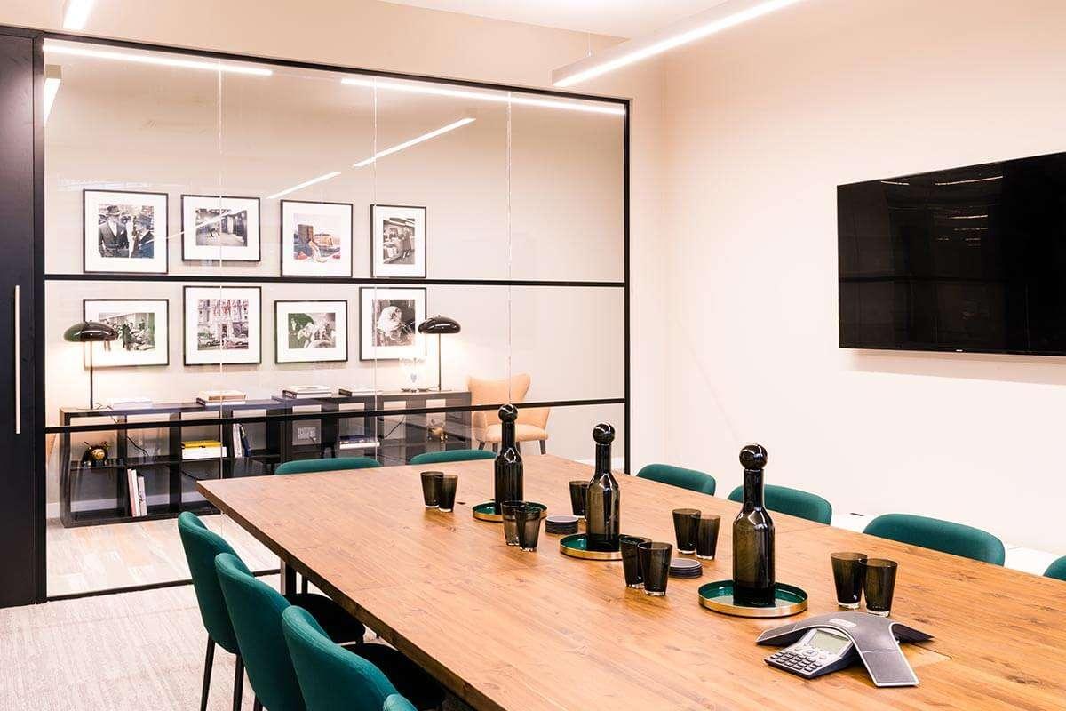 interior design london boardroom crittall