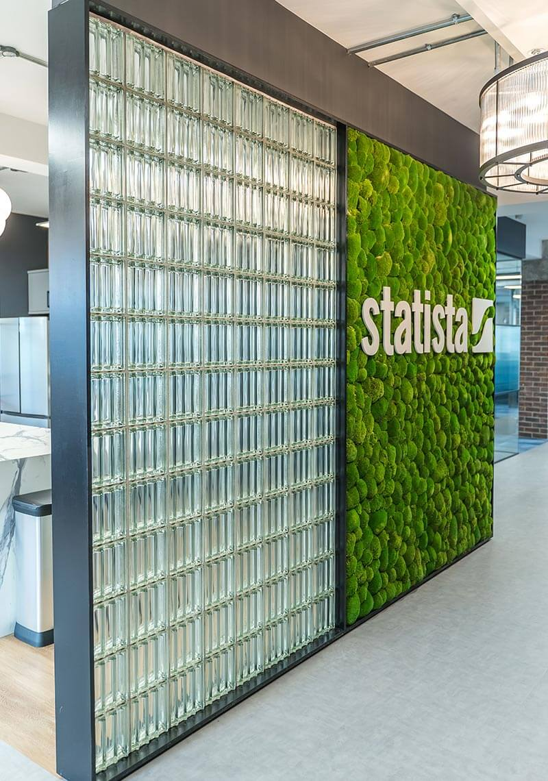 new office for Statista