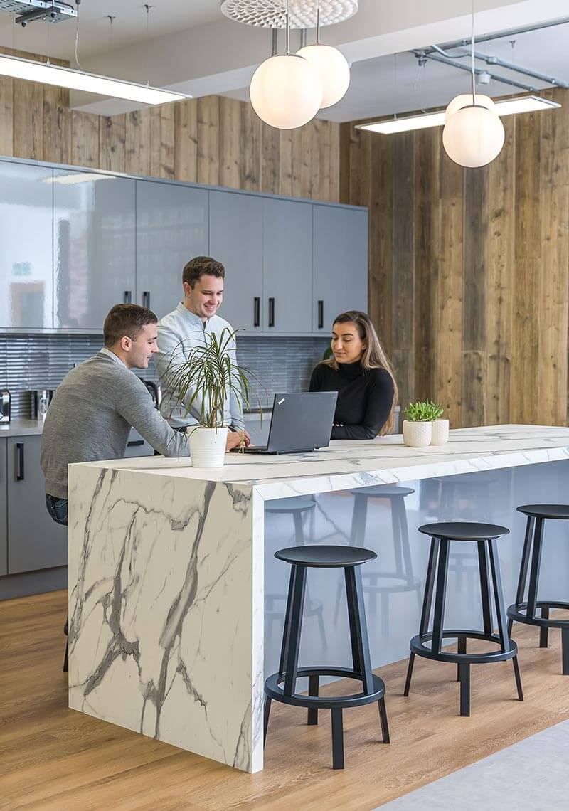 Statista new office design and fitout