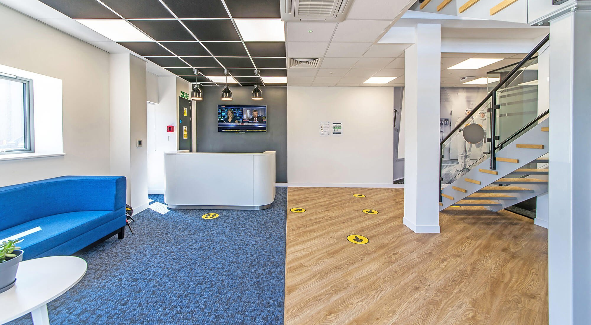 new office design and build for nano systems in surrey
